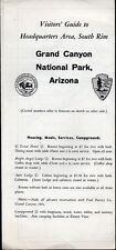 Vintage 1957 Arizona Travel Brochure - Grand Canyon National Park