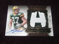 2008 U.D. Exquisite Auto/ Patch / Logo Jordy Nelson  RC Only/199