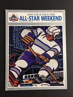 1994 NHL All Star Weekend Program New York City Madison Square Gardens Hockey