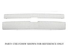 GrillCraft Chrome Stainless Mesh Grille Kit - Chevrolet Silverado 2500 3500 HD