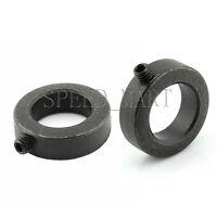 2x Split Ring Drill Stop Collars Set Exact Hole Depth Brad Point Bits 16x30x12mm