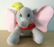"Disney Authentic Dumbo Elephant BIG Plush 14"" Soft Stuffed Animal Gift"