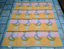 VTG  Biederlack  Blanket Throw  Ducks Pink Orange Blue  54x 69 USA