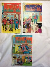 ARCHIE AND ME COMIC BOOKS
