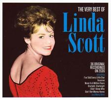 LINDA SCOTT - THE VERY BEST OF - 30 ORIGINAL RECORDINGS (NEW SEALED 2CD)