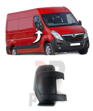 FOR RENAULT MASTER 10-18 OPEL MOVANO 10-18 WING MIRROR COVER CAP BLACK RIGHT