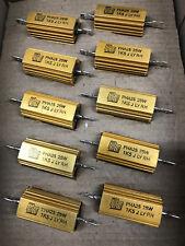 10 x PHA25-1K5-JBXS  Resistor  1.5K  25Watt Wirewound  5%