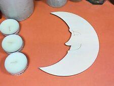 Sleepy in Legno Forma Faccia di Luna 15cm (x 1) Forma in legno compensato artigianato BIANCHI