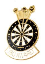 Darts & Dartboard 180 Award Pin Badge