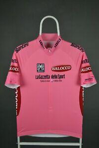 Bike Cycling Jersey Shirt Maillot Cyclism Sport SANTINI Size L