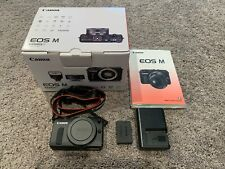 Canon EOS-M 18.0MP Mirrorless Digital Camera - Mint Condition - Body Only