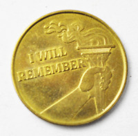 I Will Remember Ingratitude There is No Fear Medal 25mm