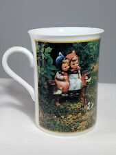 "M I Hummel ""CINDERELLA"" May Fine Porcelain Coffee Mug Tea Cup Danbury Mint"