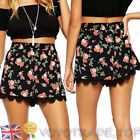 Summer Hawaiian Beach Women Shorts Casual High Waist Swimming Hot Pants Shorts