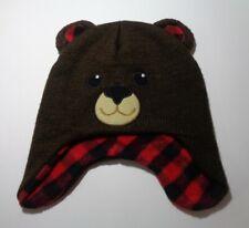 Healthtex Toddler Beanie Cutie Bear Knit Hat  2T-5T Free Shipping