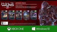 Halo Wars 2 Exclusive Atriox Blitz Pack XBOX ONE DLC Card HW2