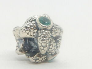 Authentic Pandora Silver Sea Star Turquoise Spinel Charm 791163SST