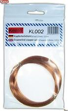 KEMO KL002 0,2mm Kupferlackdraht / copper wire ca. 115 m