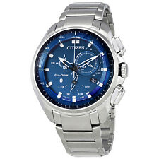 Citizen Proximity Pryzm Blue Dial Mens Bluetooth Watch BZ1021-54L