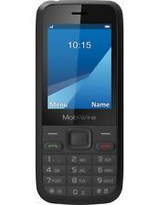 MobiWire Pictor schwarz Handy FREIGESCHALTET Simfree 2.4-inch Display UK