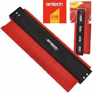 Amtech Plastic Profile Contour Gauge 260mm Tiling Laminate Marking Template Tool
