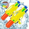 2 x Wasserpistole XXL Spritzpistole Kinder Pumpgun Wasser Watergun Wasserspritze