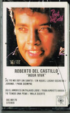 ROBERTO DEL CASTILLO AGUA VIVA BRAND NEW-SEALED CASSETTE