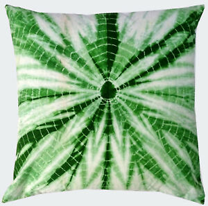 10Pc Wholesale Lot 45x45.Cm Cushion Cover Green Tie Dye Home Decorative Throw