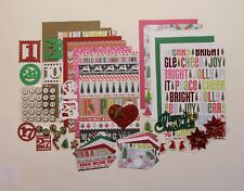 December Daily 2 KIT Chipboard Mini Book Album Junk Art Mixed Media Journal