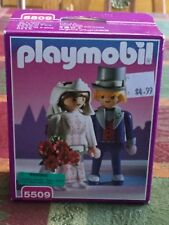 NEW! FACTORY SEALED Playmobil 5509 VICTORIAN WEDDING BRIDE AND GROOM