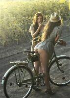 """Photographie,   """"La bicyclette"""",  1992         /      13 x 18"""