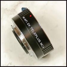 5 PIN Sony Alpha A DIGITAL SLR fit Teleplus MC4 2x Lens Tele Convertor M-AFi