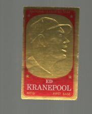 1965 TOPPS EMBOSSED BASEBALL  #6 1B ED KRANEPOOL NEW YORK METS