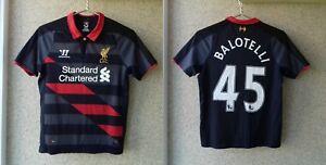 Liverpool Third football shirt 2014/2015 Jersey Warrior Growt 146 # 45 Balotelli