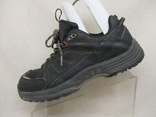 WORX by Red Wing Black Leather Ankle Boots Steel Toe Work Boots Size 11.5 - 5015