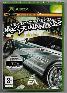 Xbox Need For Speed Most Wanted ( 2005 1st Print) UK Pal, Factory Sealed, Mint