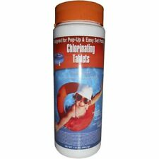 """1"""" Stabilized Swimming Pool Spa Chlorine Tablets 1.5 lb"""