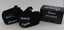 TWO (2) VITTORIA ANTI UV TIRE COVERS, BLACK, 700 x 19-28c,  BRAND NEW