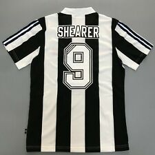 More details for 1996-97 newcastle united home football shirt adults retro jersey shearer #9