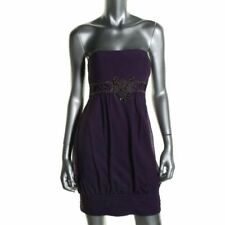 Sue Wong Purple Embellished Mini Cocktail Party Prom Dress Sz 2 NWT