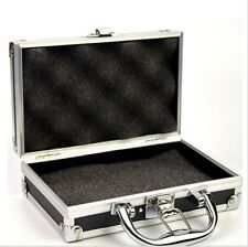 Aluminum Framed Gun Carry Case Handgun Pistol Hard Box Gun Storage Case Bag Hot