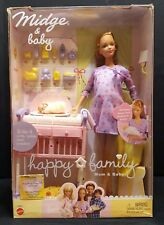 Happy Family Midge and Baby Barbie (NRFB)
