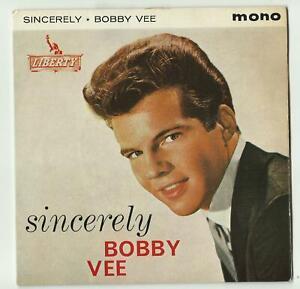 BOBBY VEE. SINCERLY . EP