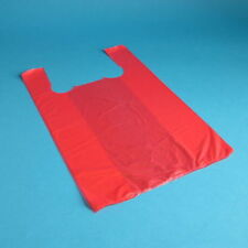 2000 Hemdchentragetaschen Shopper Hemdchentüten Plastiktüten orange 30+16x52cm