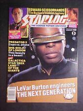 JANUARY 1991 STARLOG #162! STAR TREK: TNG! LeVAR BURTON COVER! NM-