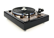 Restaurierter Thorens TD 146 Plattenspieler Turntable in Marmor Optik braun