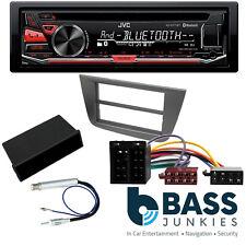 Seat Altea 2004-15 LHD JVC Bluetooth CD AUX In Car Fitting Stereo Black Kit