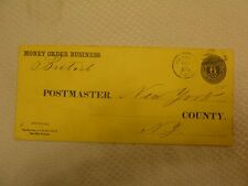 US 1921 Official Post Office 6c Money Order Business (7beb)