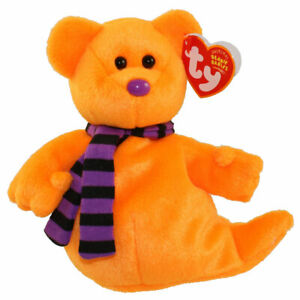 TY Beanie Baby - SHIVERS the Ghost Bear (6.5 inch) - MWMTs Stuffed Animal Toy