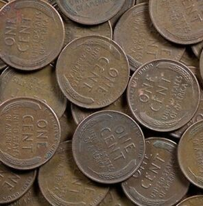 (500) WHEAT PENNIES! MIXED LOT OF LINCOLN WHEAT PENNIES!